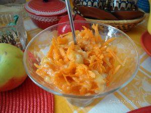 Десерт из банана с морковью - простой рецепт