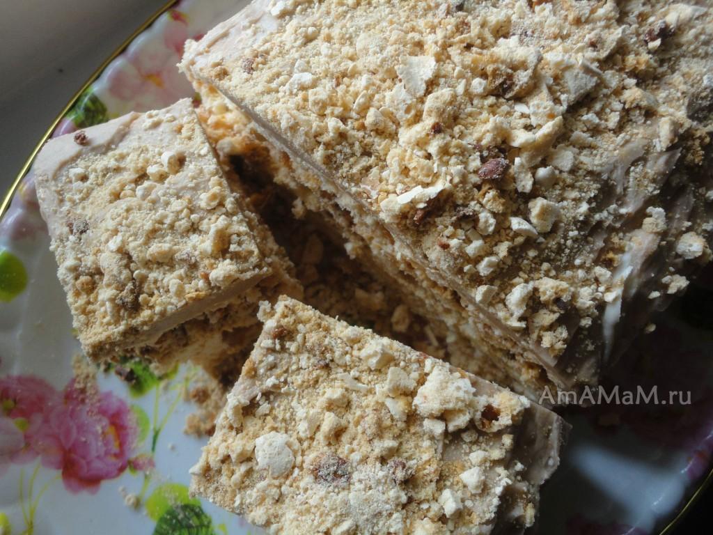 Как пекут коржи-безе для торта