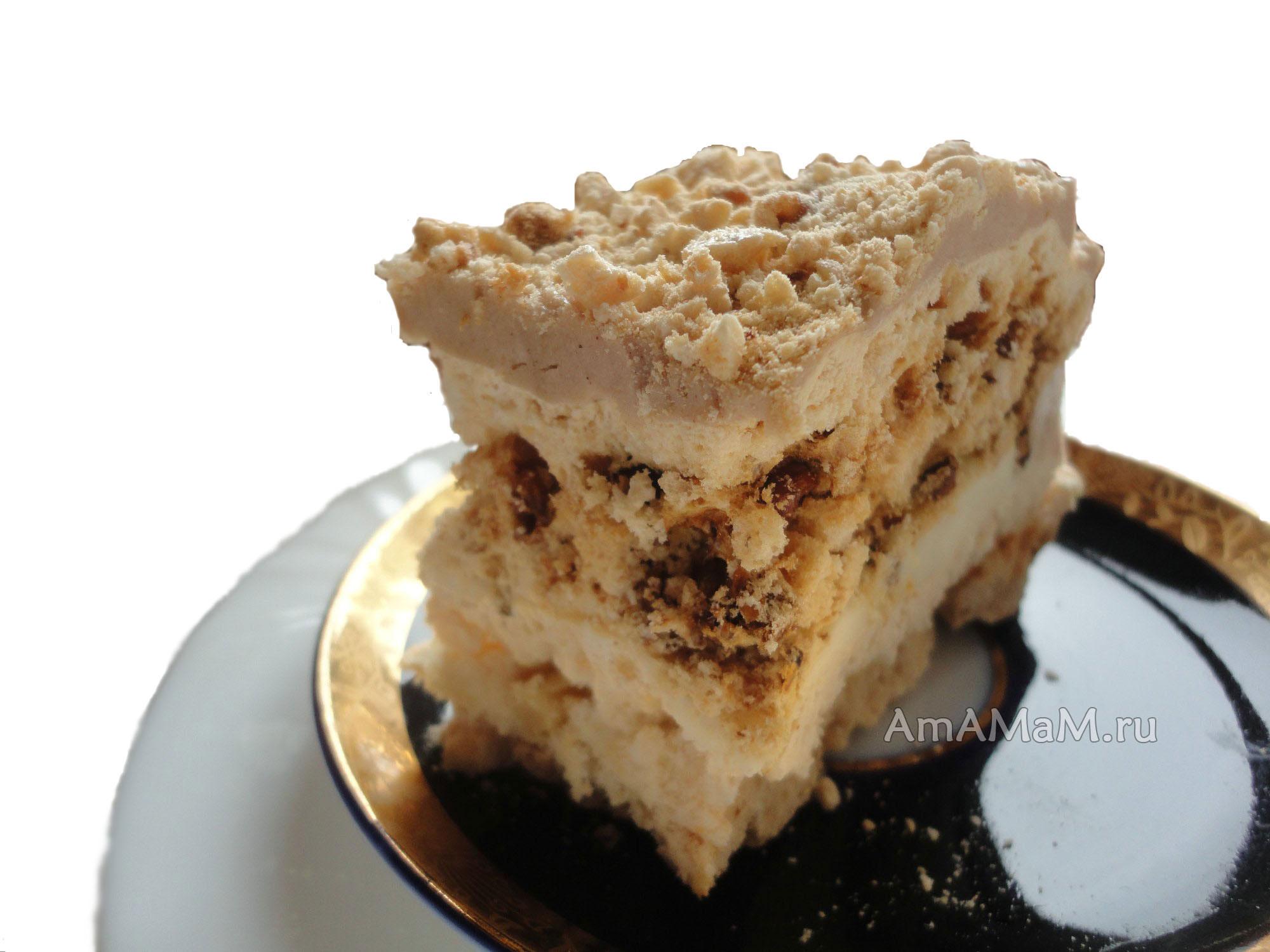 торт аленушка рецепт с фото пошагово
