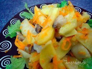 Приготовление картофеля с вешенками - простой рецепт с фото