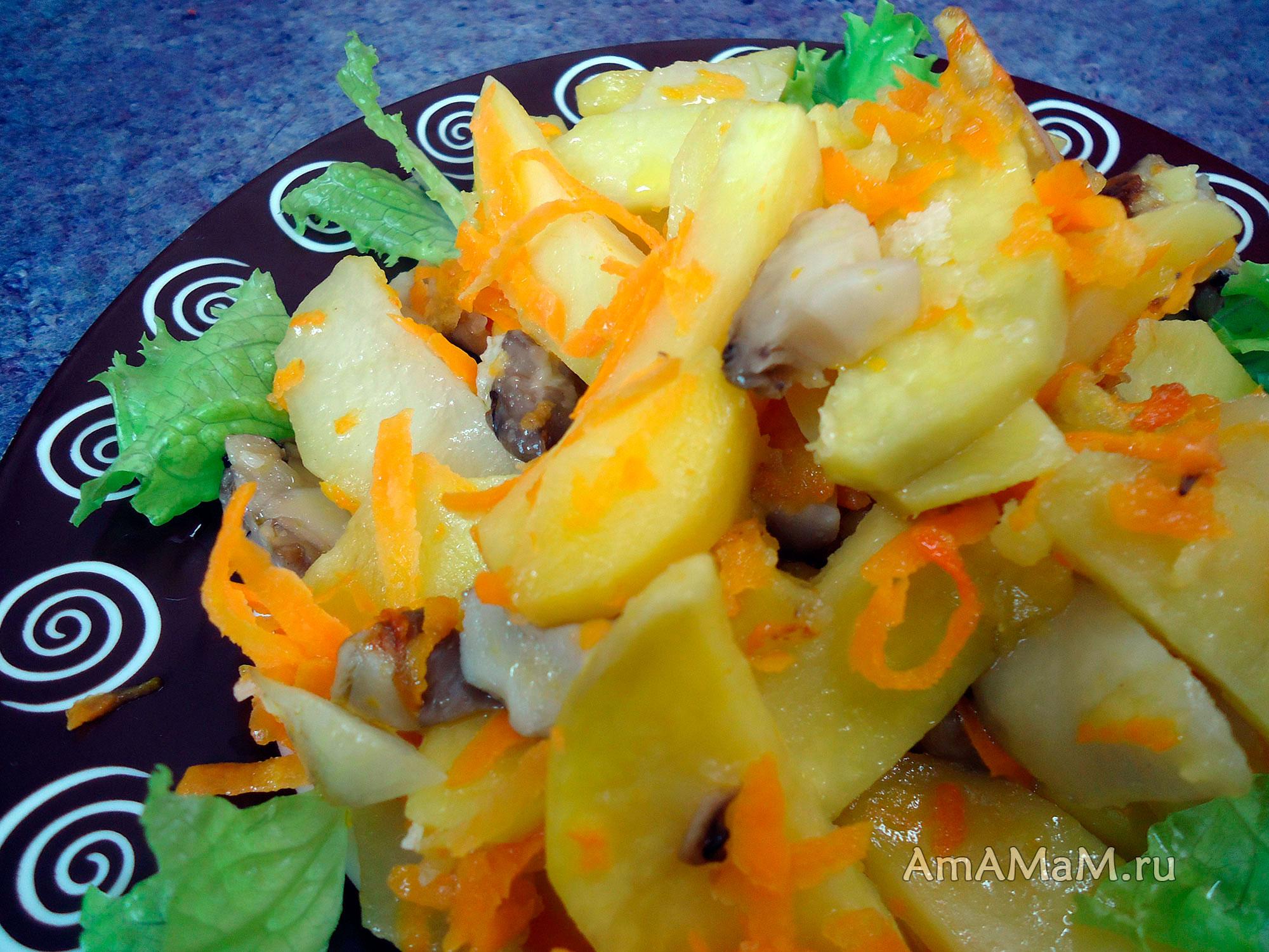 Простой рецепт жареной картошки