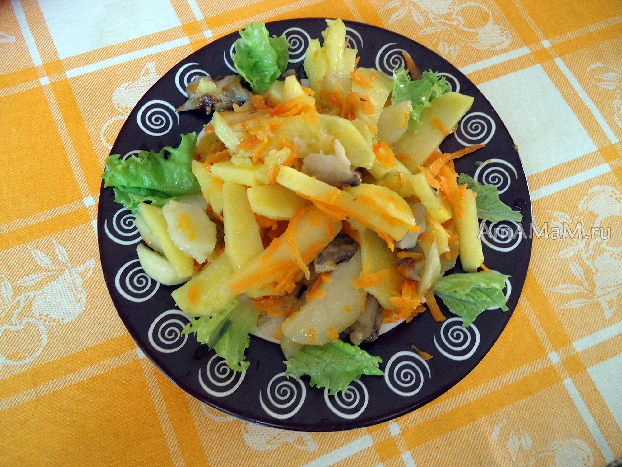 Вешенки рецепты с картошкой