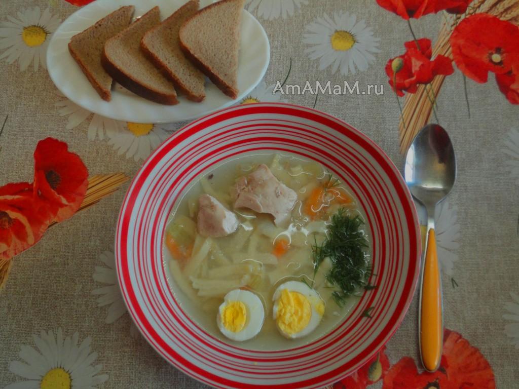 Рецепт теста и супа Домашняя лапша