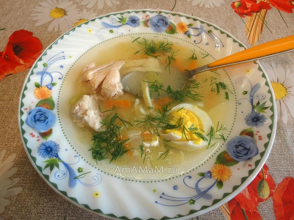 Суп с макаронными изделиями, приготовленный своими руками в домашних условиях