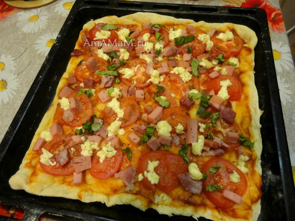 Как приготовить пиццу своими руками в домашних условиях