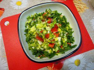 Рецепт осеннего салата из овощей