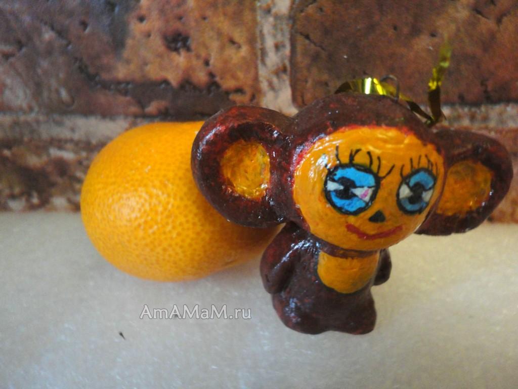 Фото Чебурашки - советкая елочная игрушка