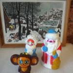 Фото новогодних игрушек и способ росписи