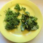 Как нарезать зелень в фарш - фото и рецепт запеканки