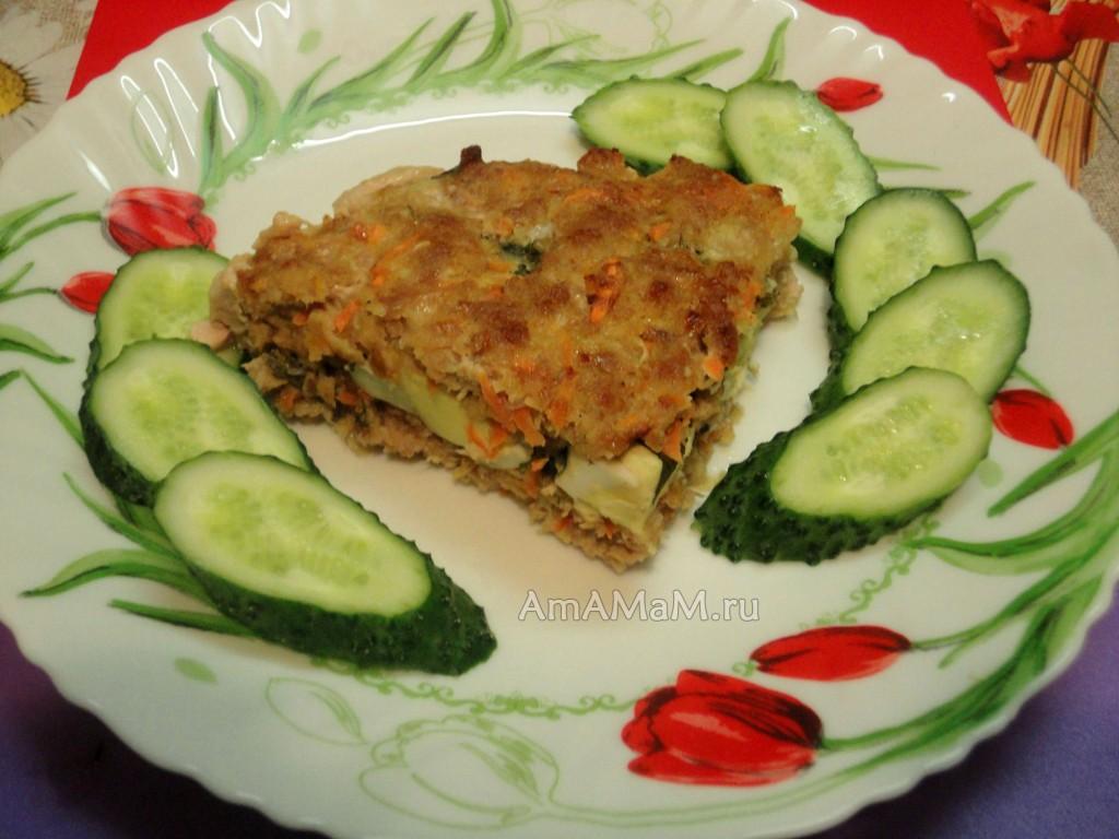 Мясной пирог по-немецки - рецепт