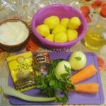 Рецепт печеного картофеля круджочками (в пакете для запекания)