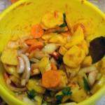 Рецепт тушеной картошки в пакуете (в духовке)