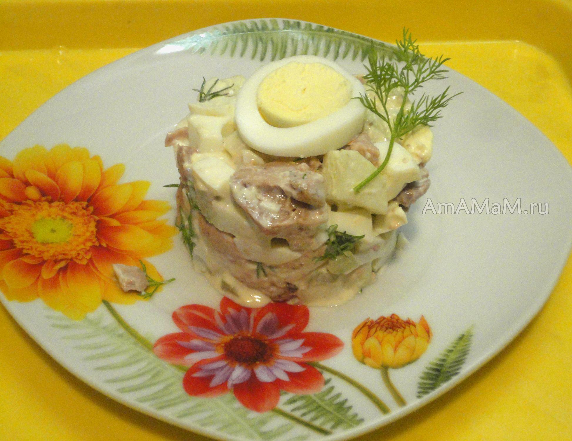 Салат с курицей  107 рецептов с фото Как приготовить