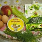 С чем готовить салат из печени трески - вариант состава