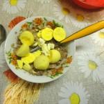 Рецепт фаршированных яиц-грибочков