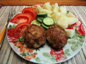 Рецепт рубленых котлет из скумбрии с пикшей