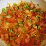 Рецепт овощной заправки для чечевицы