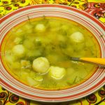 Суп из плавленых сырков на курином бульоне - рецепт