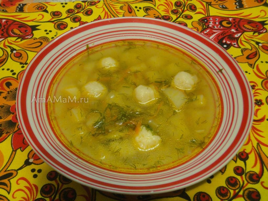 Суп из сырных шариков - рецепт и приготовление