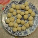 Как выглядят сырные шарики из сырного теста