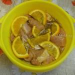 Рецепт маринования свинины в апельсинах и меде