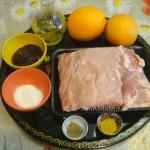 Приготовление свинины в апельсинах - состав блюда и рецепт