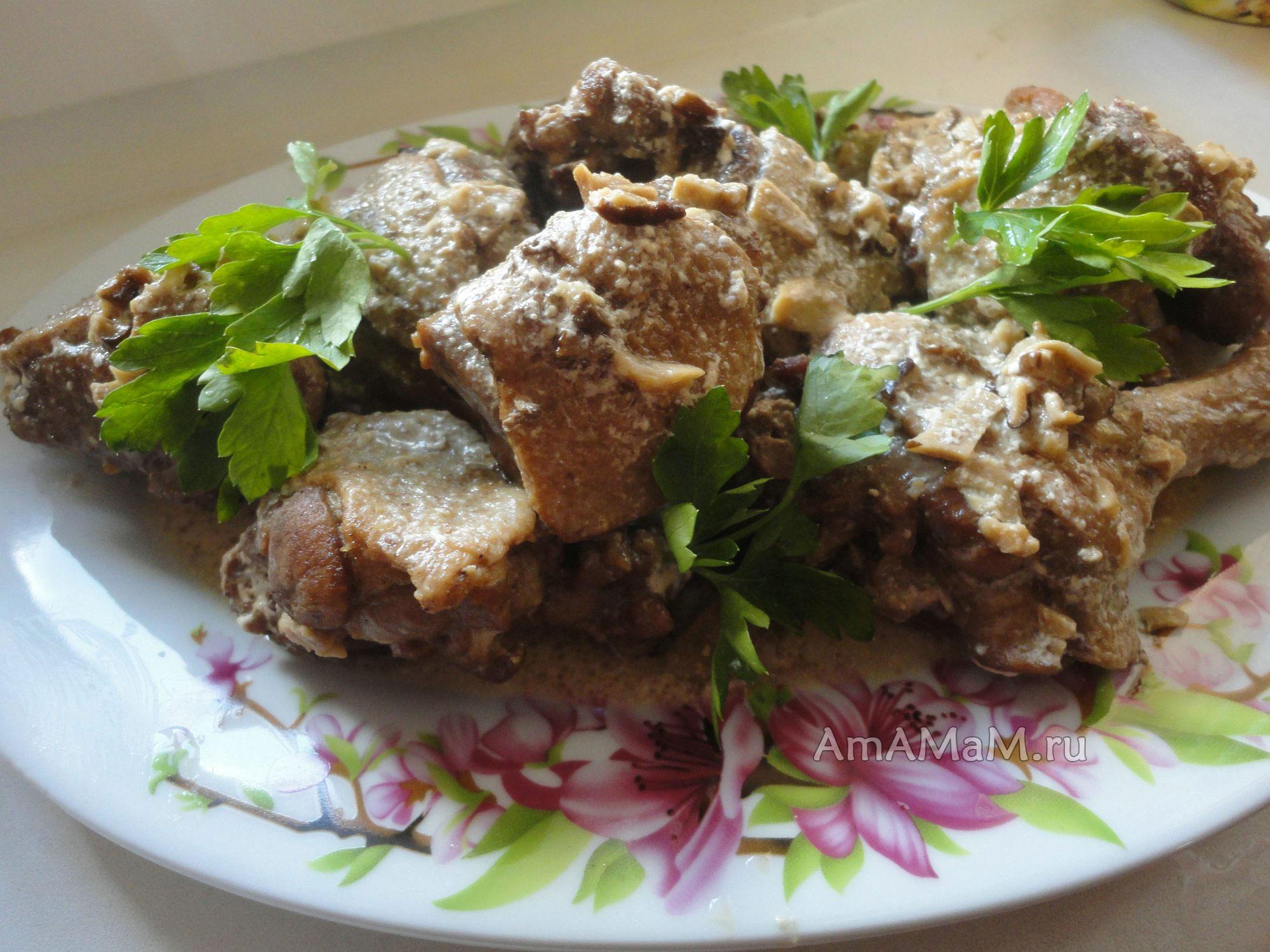 Новогодние рецепты блюд утка