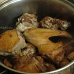 Блюдо из утки - процесс приготовления
