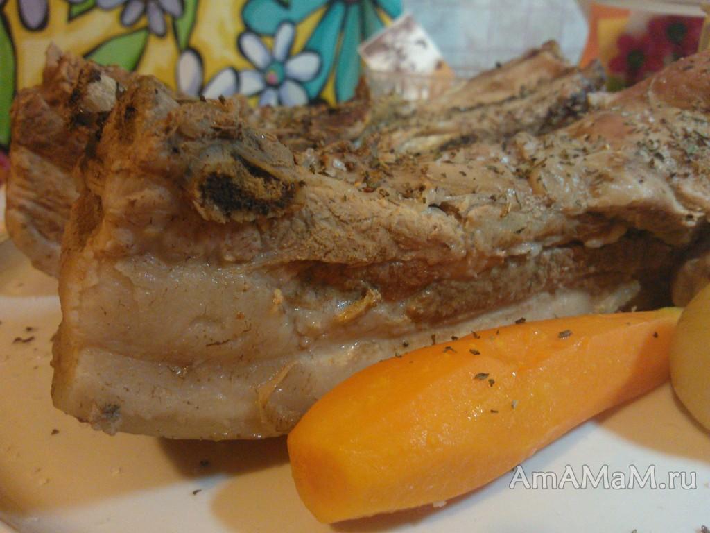 Рецепты домашней грудинки с луком