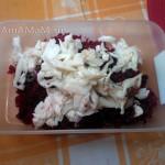 Блюда из кальмаров - рецепты салатов