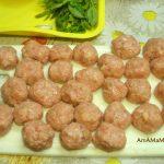 Как делают фрикадельки из индюшки с рисом