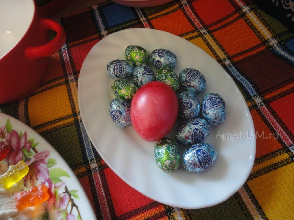 Какие яйца сделать на Пасху - фото