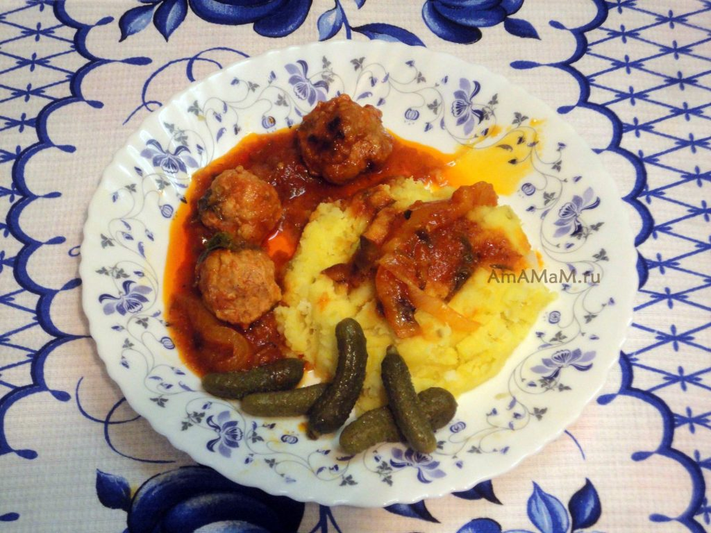 Индюшачьи тефтельки - рецепт блюда