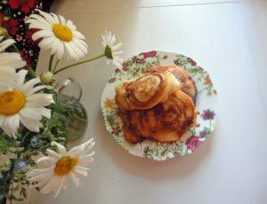 Приготовление жареных мясных пирожков на кефире