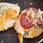 Технология сборки домашнего гамбургера