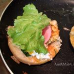 Сборка гамбургера - домашний рецепт