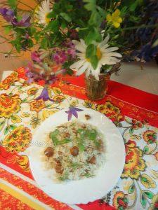 Блюдо из лисичек с рисом - вкусно и просто!