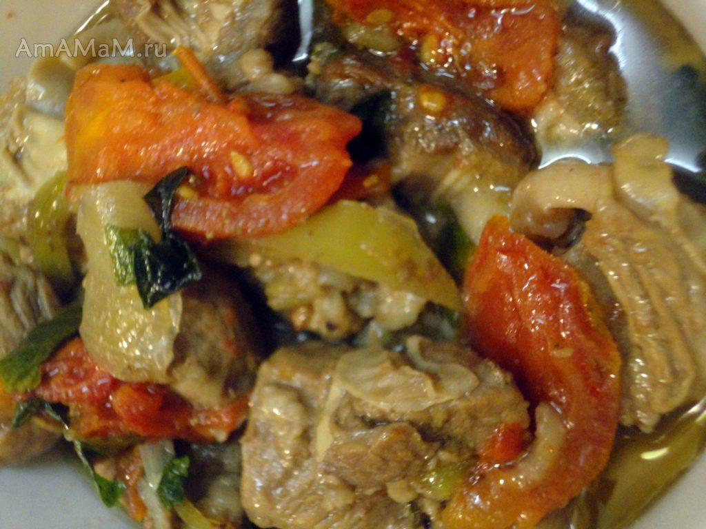 Вкусный рецепт приготовления мяса диафрагмы с фото