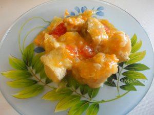 Филе хека тушеное с овощами - простой рецепт вкусной рыюы