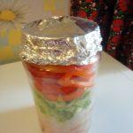 Чем накрыть банку с курицей, рисом и овощами - крышка из фольги