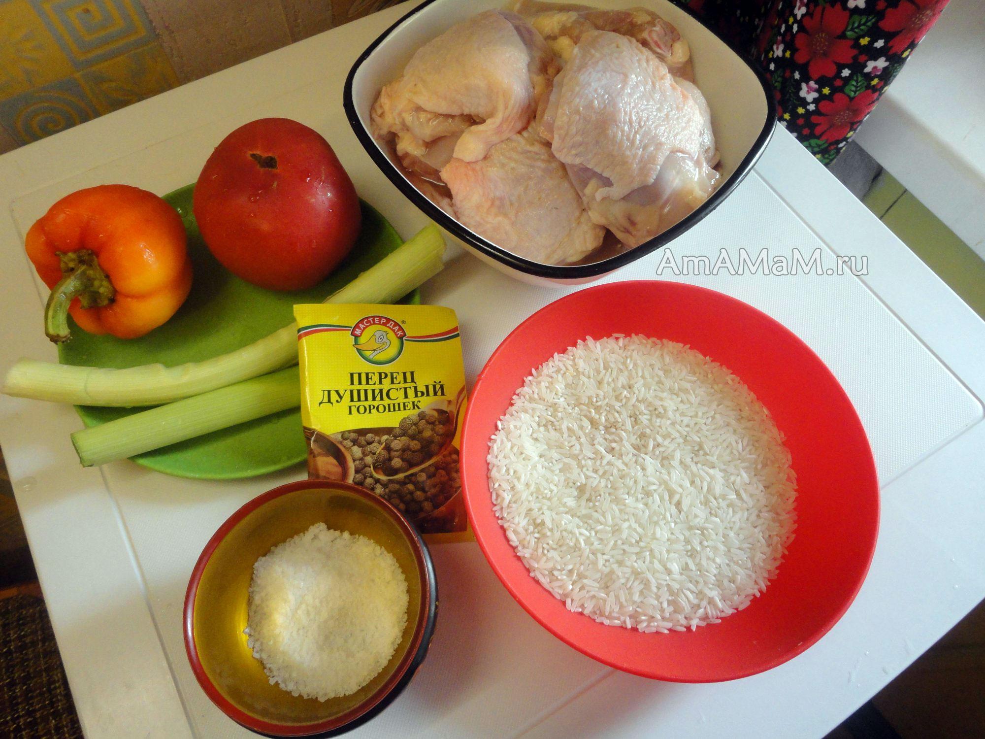 Рис с курицей - 152 домашних вкусных рецепта приготовления