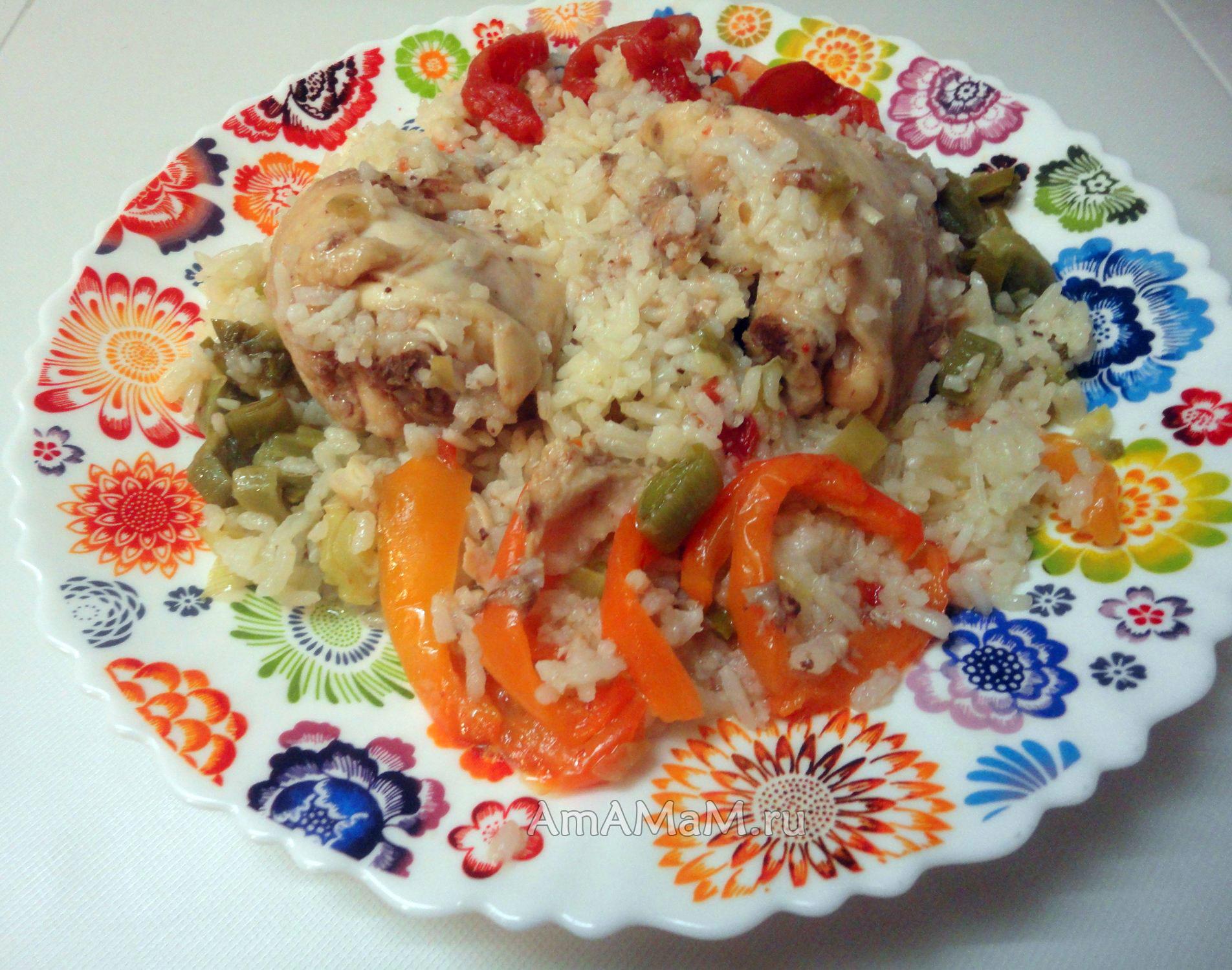 что можно приготовить к рису на гарнир