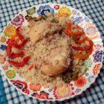 Рецепт простого обеда, приготовленного одновременно в 1 посуде