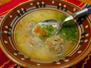 Как делают фрикадельки с капустой - способ приготолвения и их применение в супе