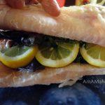 Жерех в дузовке - рецепт с лимоном и зеленью в соли
