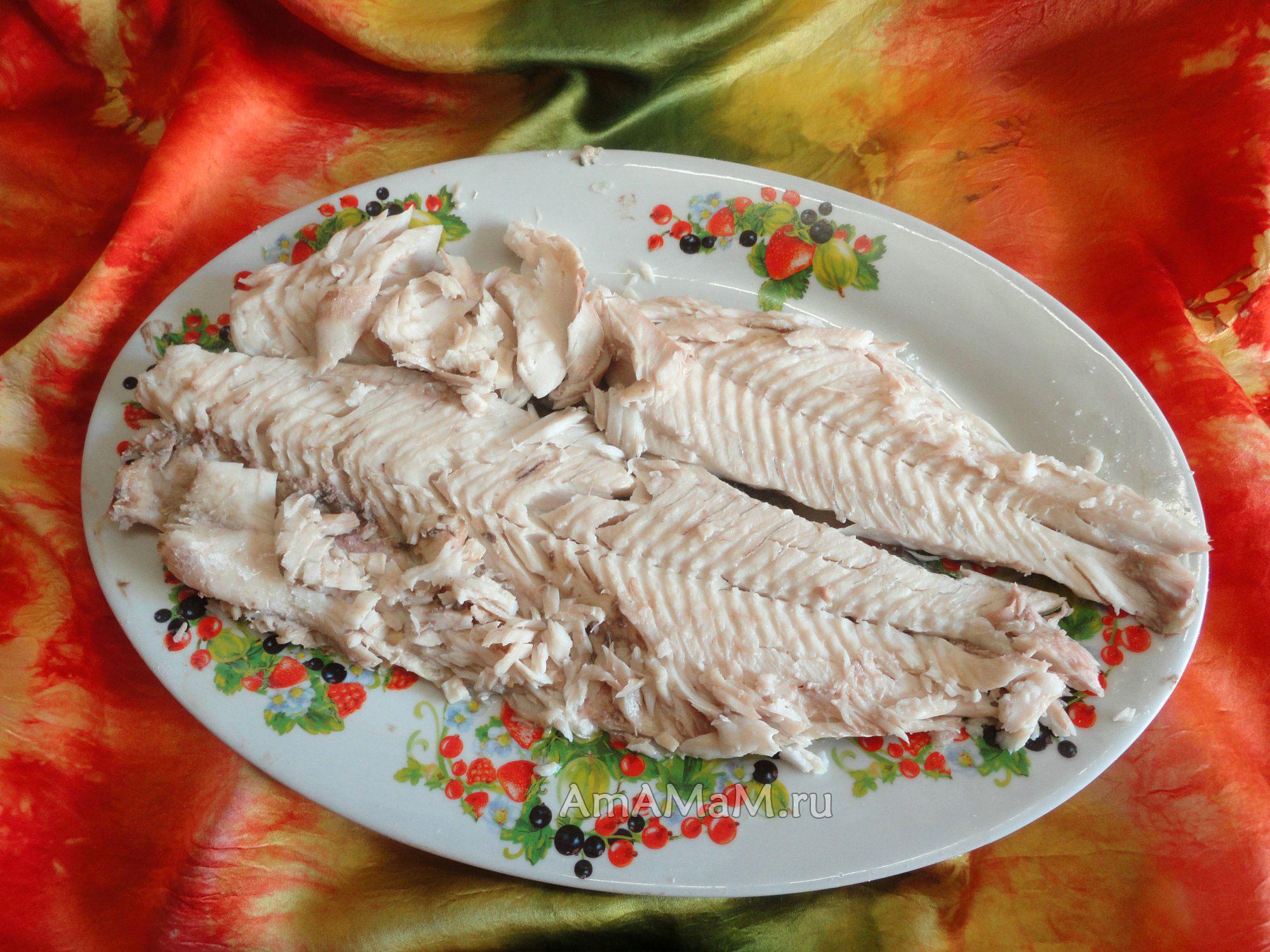 жерех рыба в духовке рецепты с фото