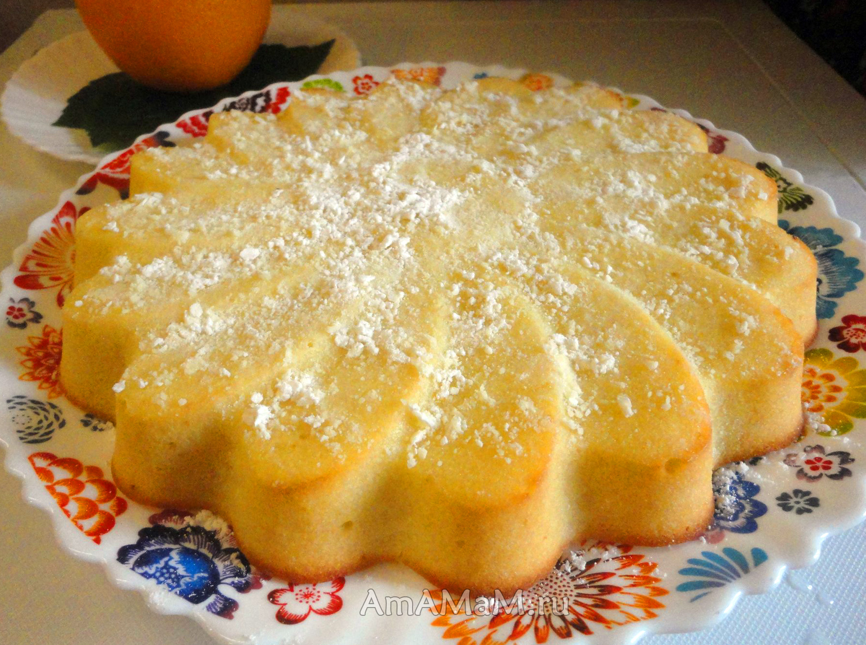 Апельсиновый пирог рецепт пошагово в духовке рецепт