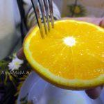 Приготовление апельсинового сока для пирога - как получить много сока