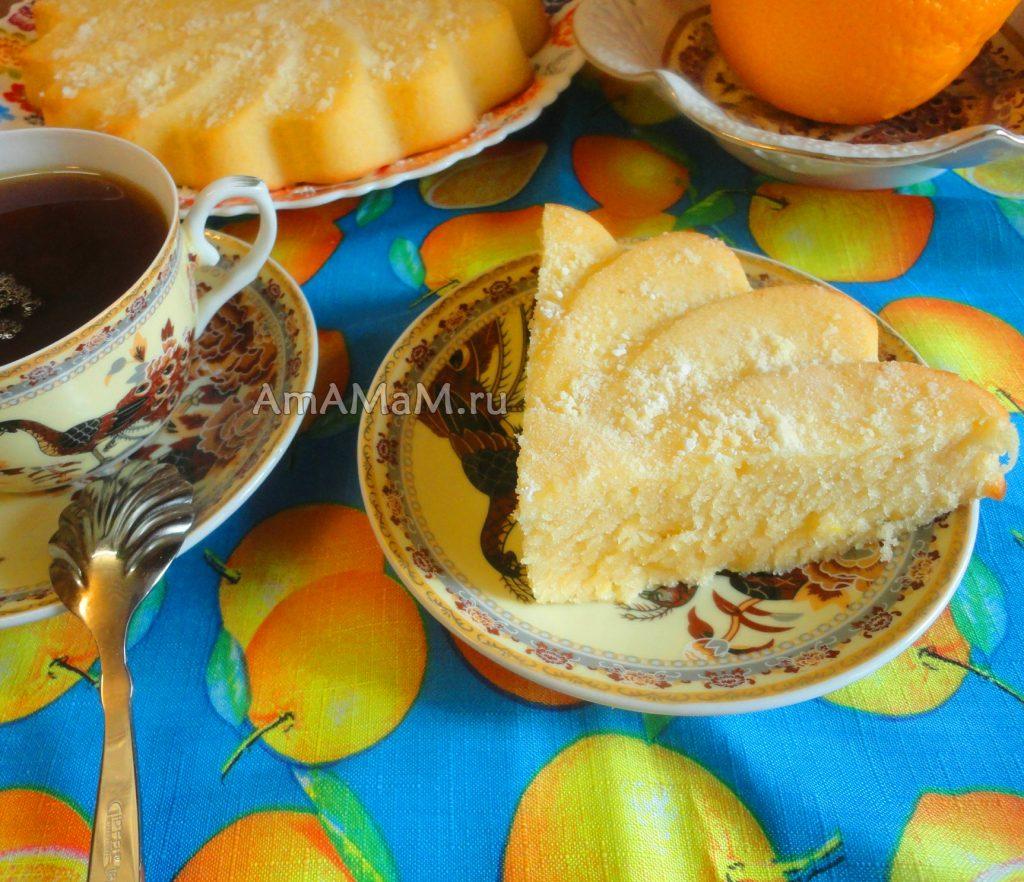 Домашняя выпечка из простых продуктов - рецепт пирога с апельсинами