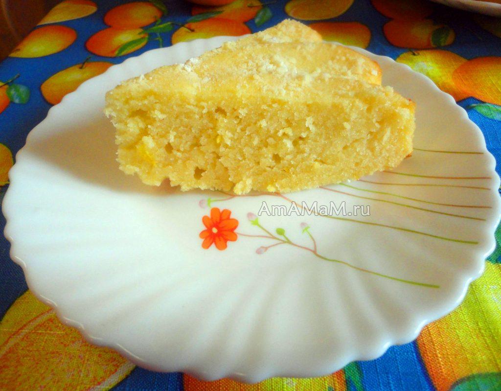 Как делают пирог из апельсинов - пошаговый рецепт с фото